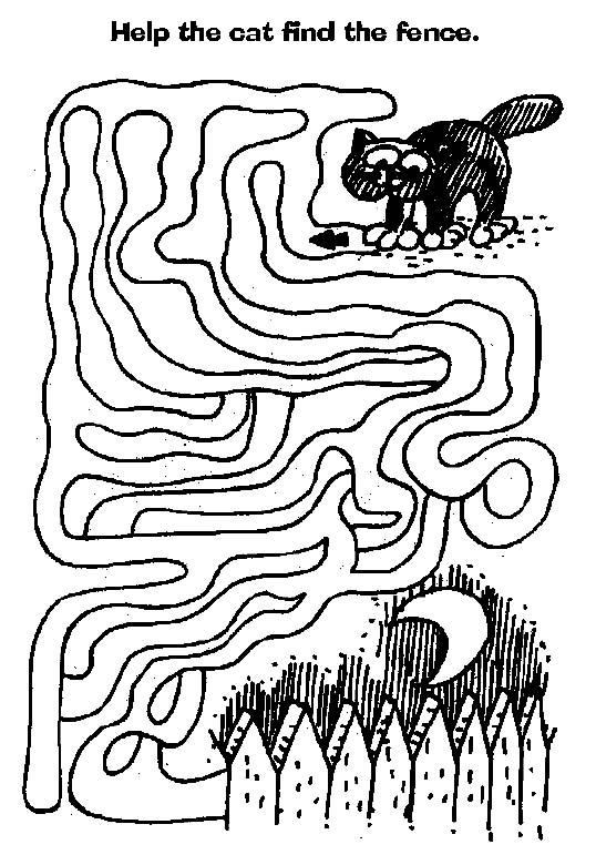 Mazes to Print