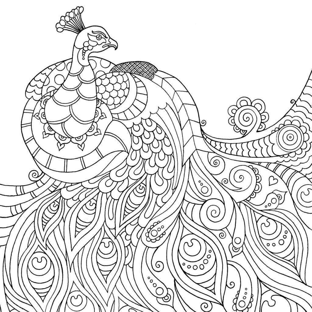 Mindfulness Coloring Animals
