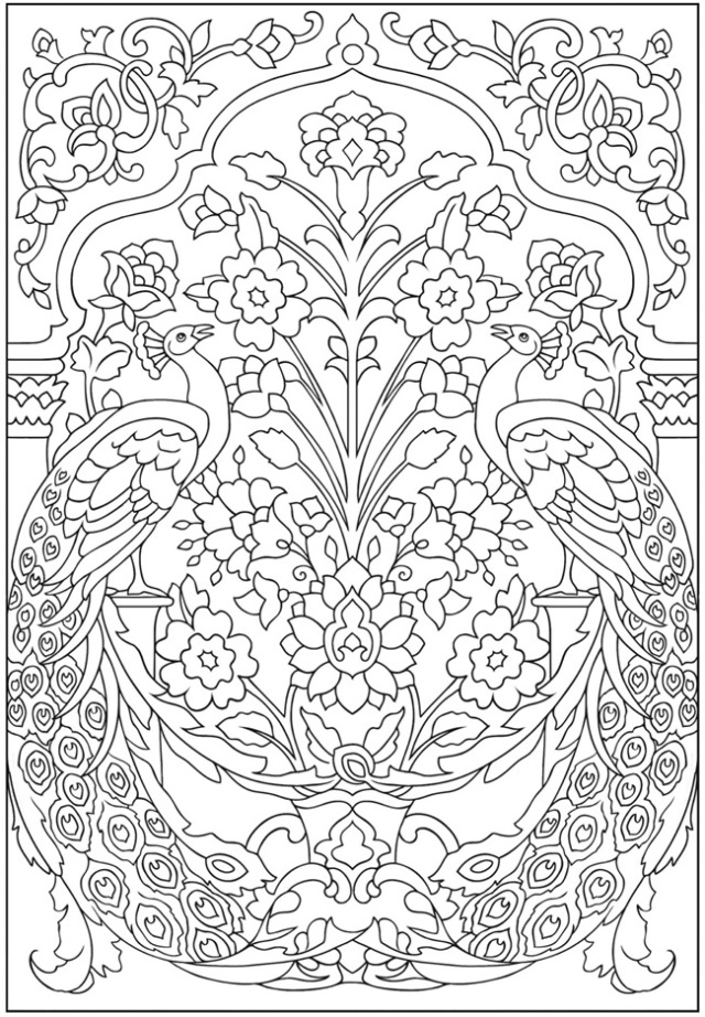 Mindfulness Coloring Page Design