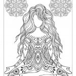 Mindfulness Coloring Pages Mediation