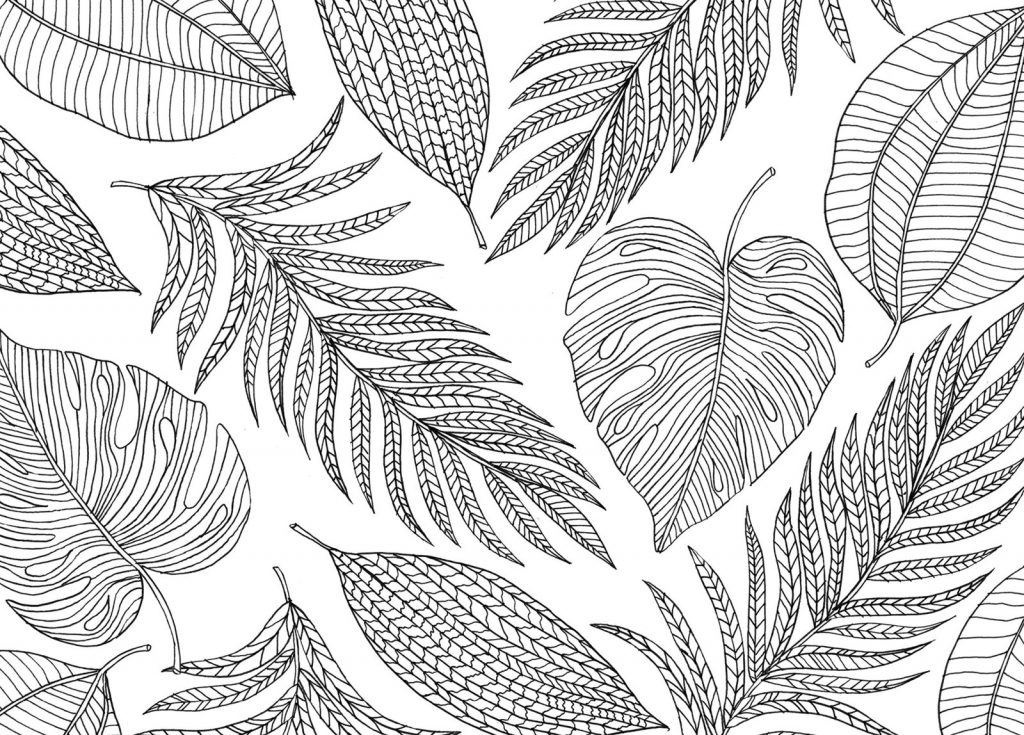Mindfulness Coloring Pages Nature