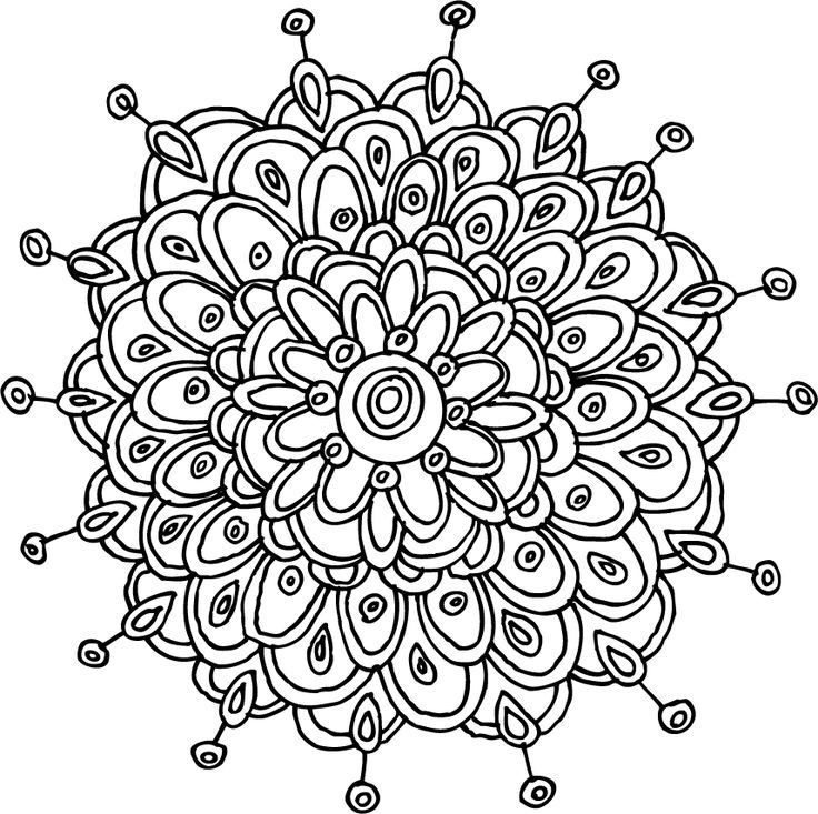 Mindfulness Coloring Pages Printable
