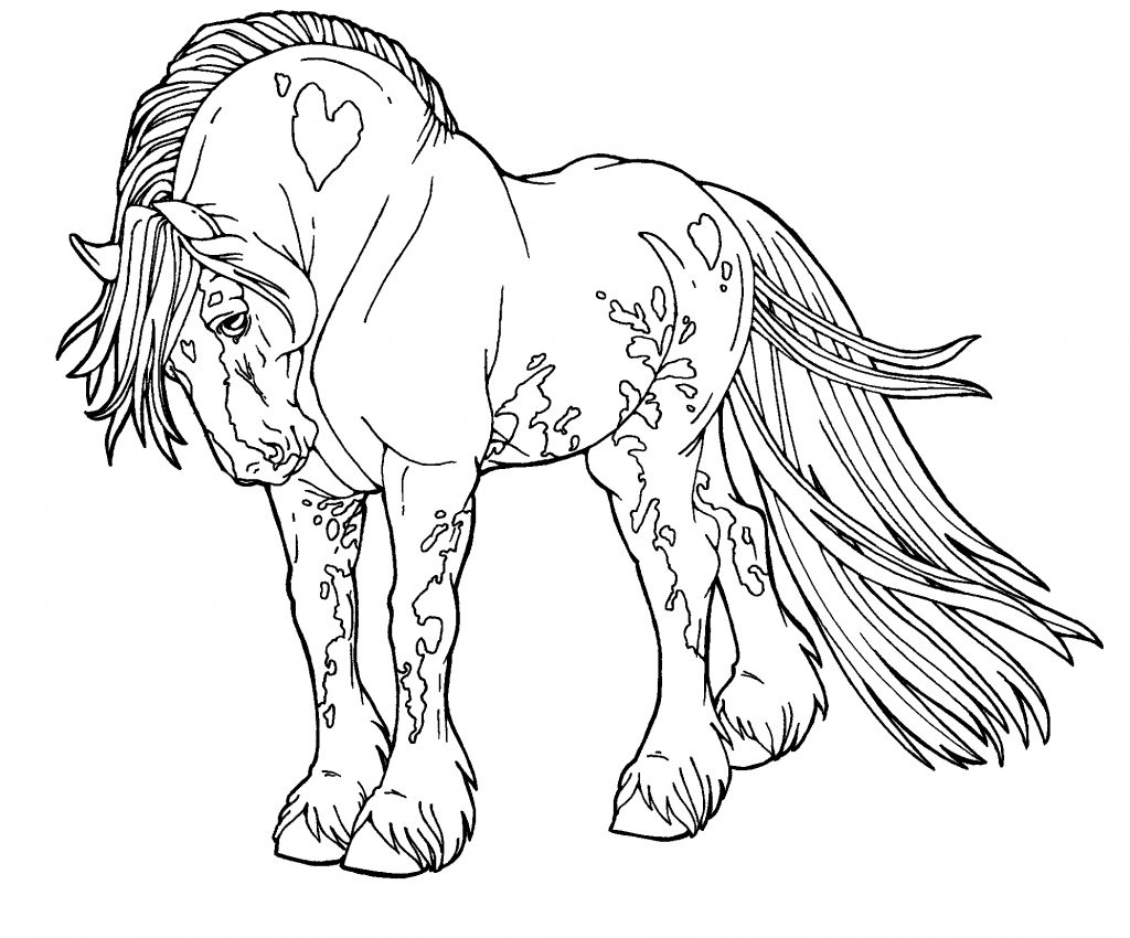 Pretty Pony Coloring Pages