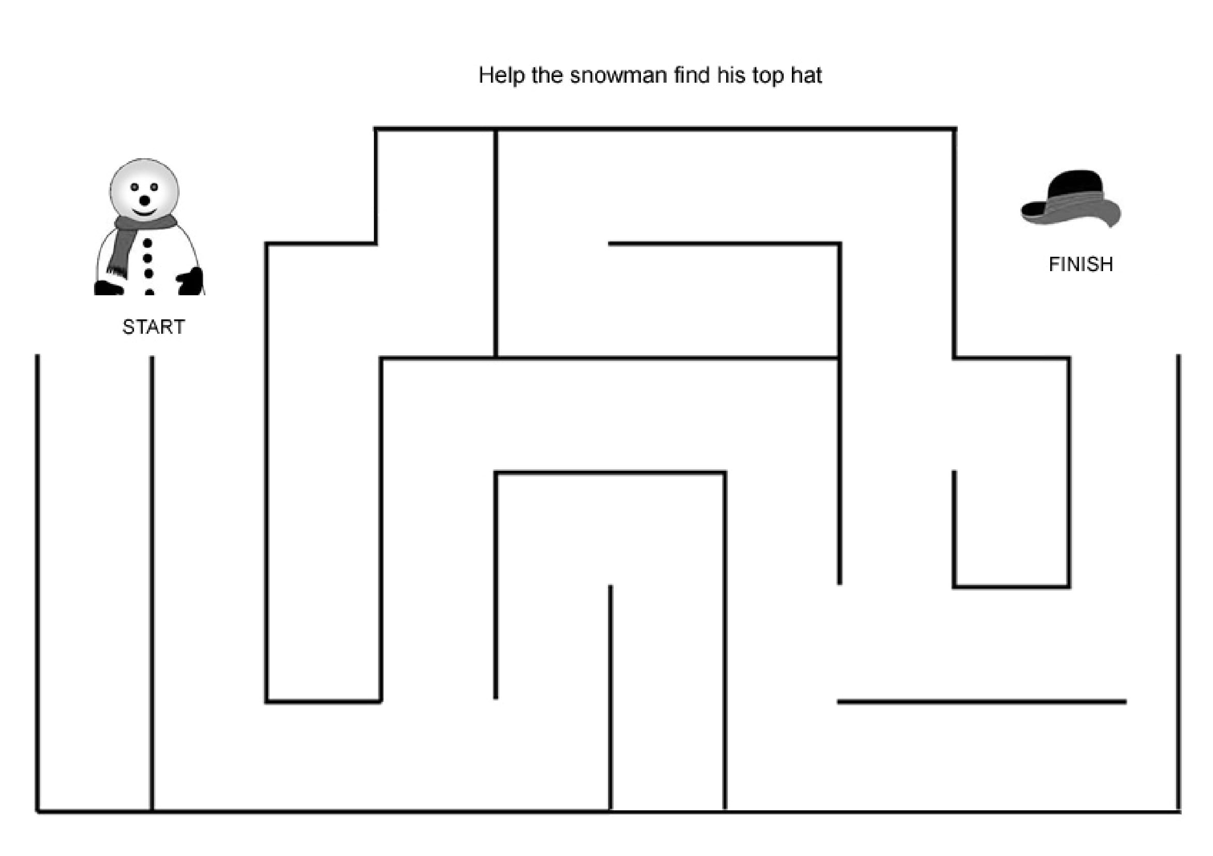 Easy Mazes Printable Mazes For Kids Best Coloring Pages For Kids