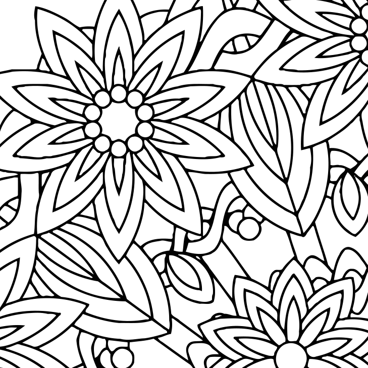 Print Mindfulness Coloring Page Designs