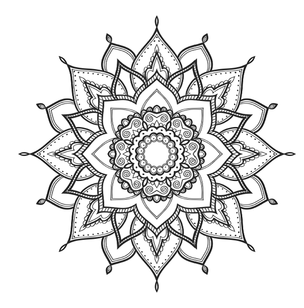 Print Mindfulness Coloring Pages