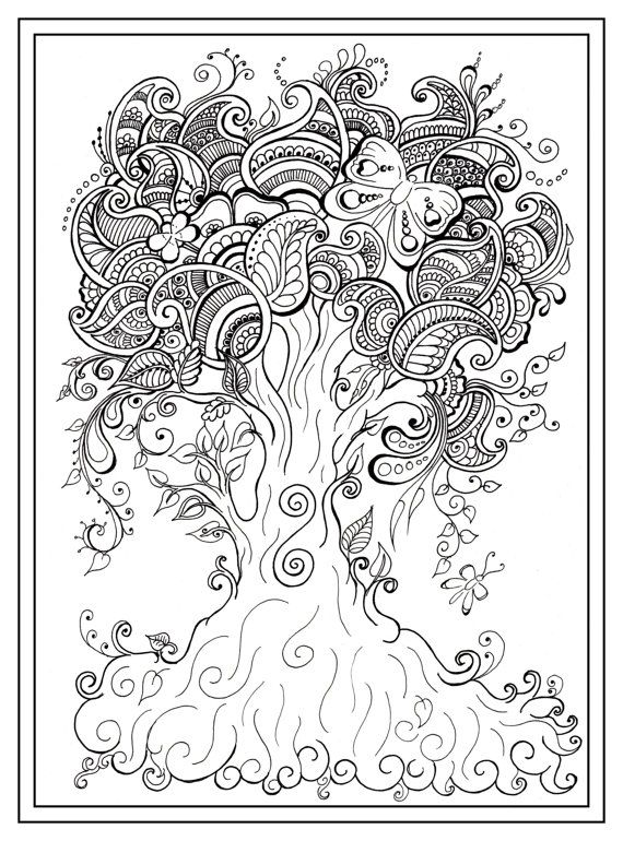 free mindfulness coloring pages - photo#14