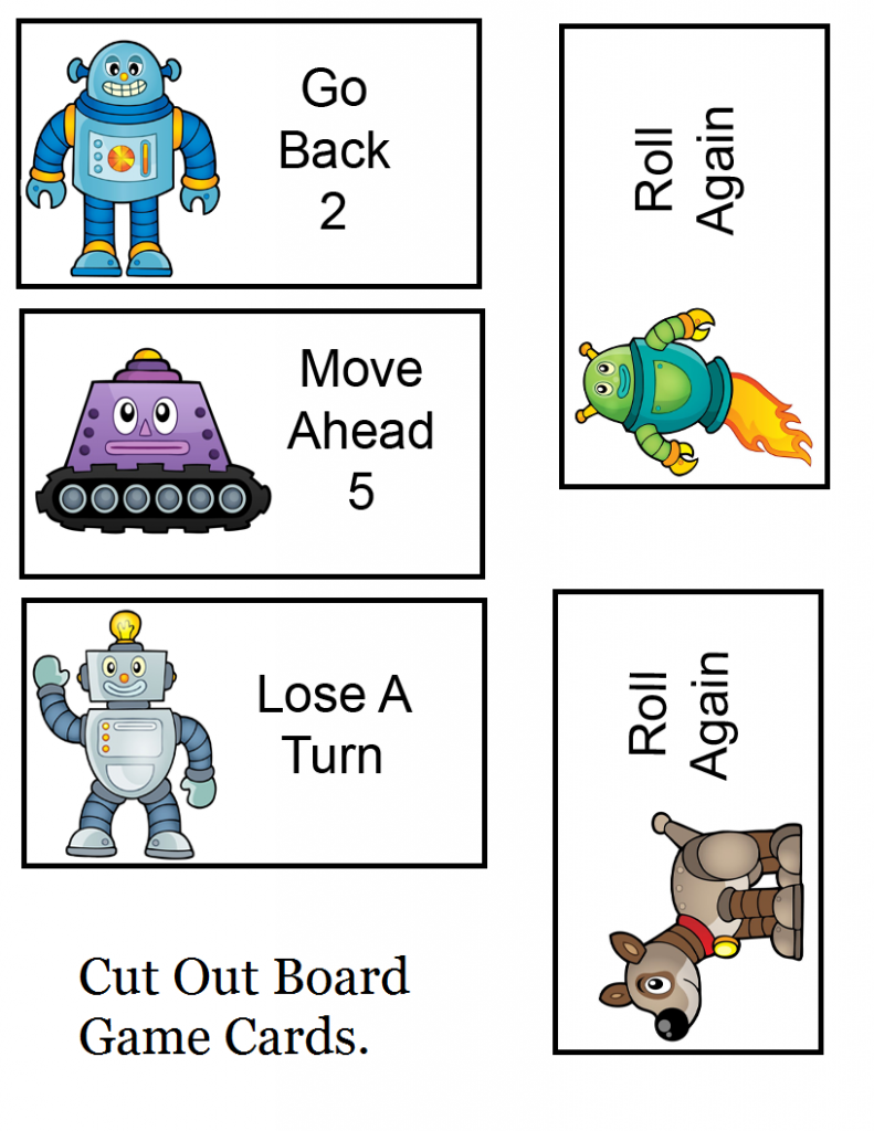 Robot Game Cards