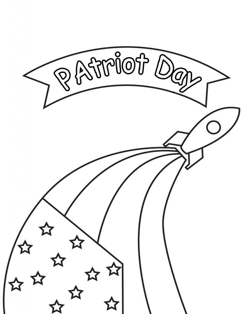 9-11 Patriot Day Coloring Page