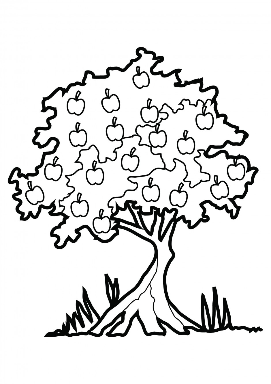 Johnny Appleseed Coloring Page - Coloring Home   1329x940