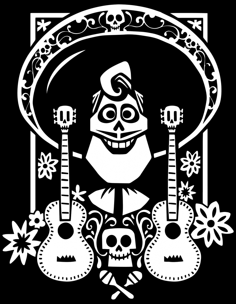 Coco Coloring Page Design