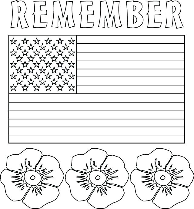 Color 9-11 Patriot Coloring Page