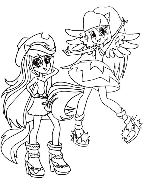 Color Equestria Girls