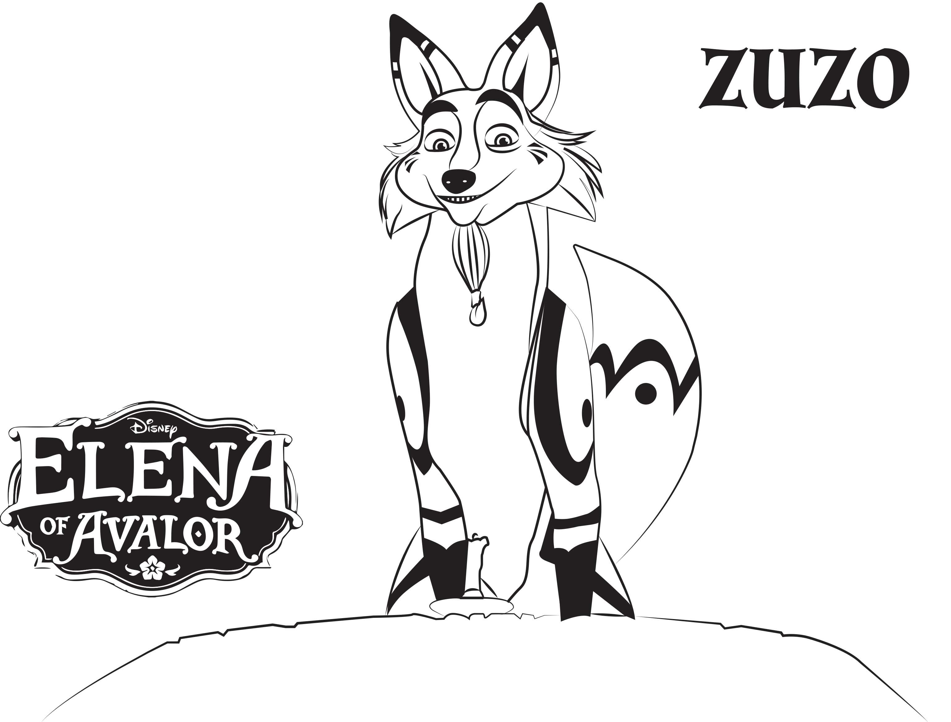 Elena Of Avalor Coloring Pages Best Coloring Pages For Kids