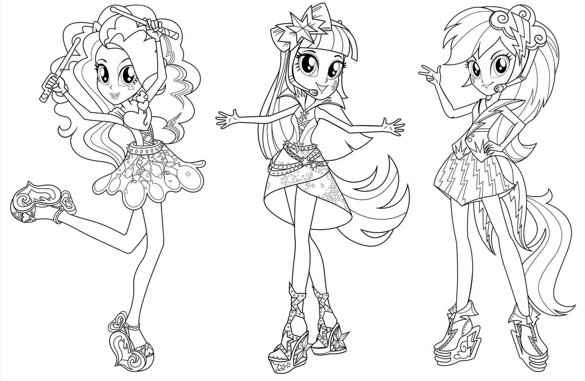 Equestria Girls Coloring Pages - Best Coloring Pages For Kids