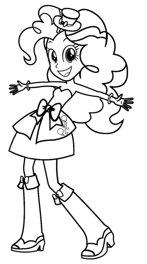 Equestria Girls Coloring Pages Free