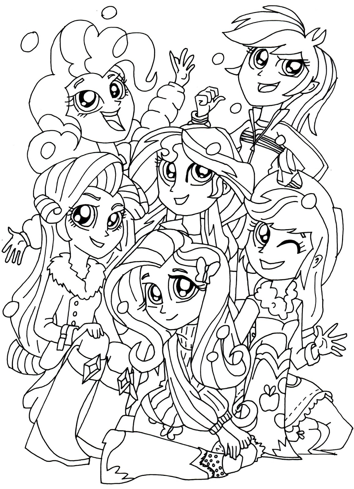 Equestria girls Coloring Pages | How to Draw Twilight Sparkle ... | 1600x1159