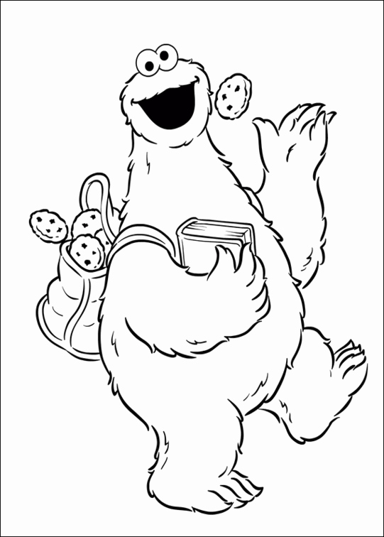 free printable coloring pages cookies - photo#27