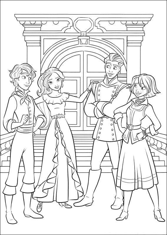 - Elena Of Avalor Coloring Pages - Best Coloring Pages For Kids