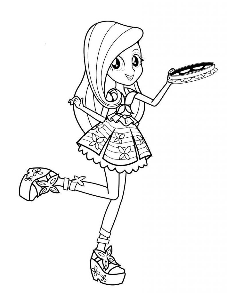 Free Equestria Girls Coloring Pages