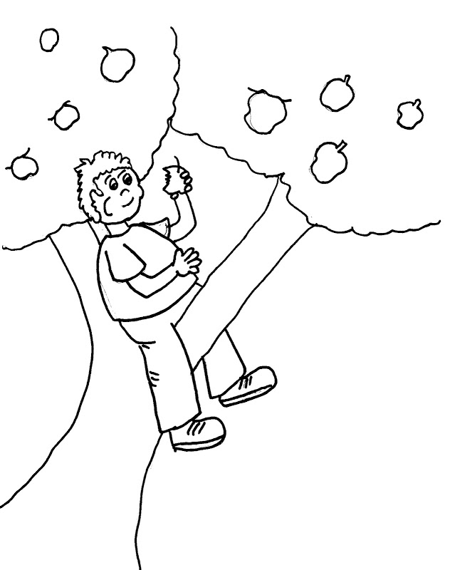Johnny Appleseed Coloring Pages Best Coloring Pages For Kids