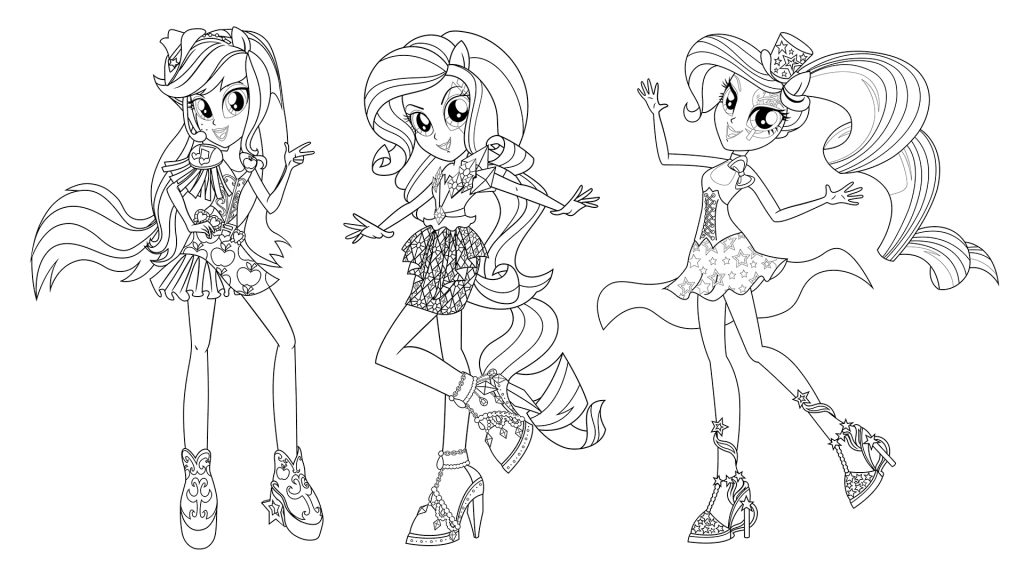 Free My Little Pony Equestria Girls