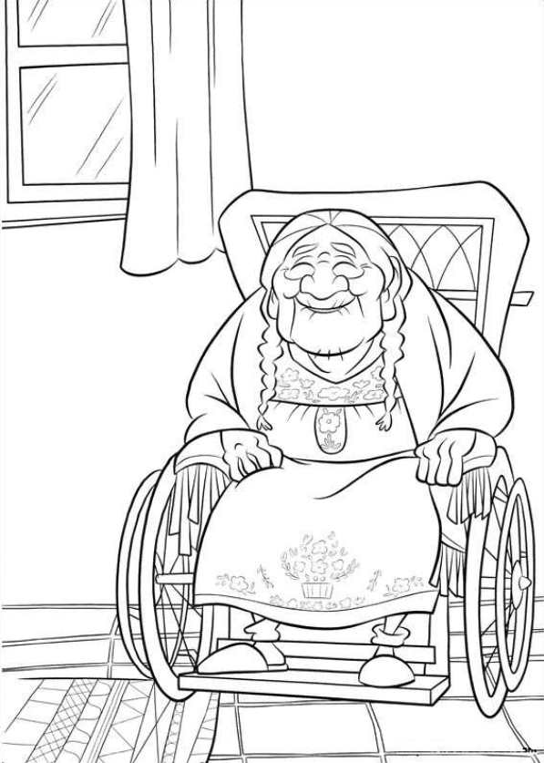 Great Gran Coco Coloring Pages