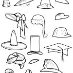 Hats Coloring Page