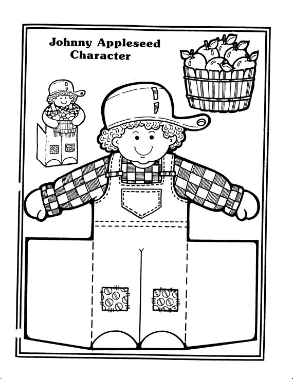 picture relating to Johnny Appleseed Printable Story known as Johnny Appleseed Coloring Web pages - Excellent Coloring Internet pages For Little ones