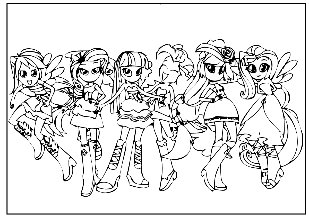 mlp printable coloring pages eg - photo#17