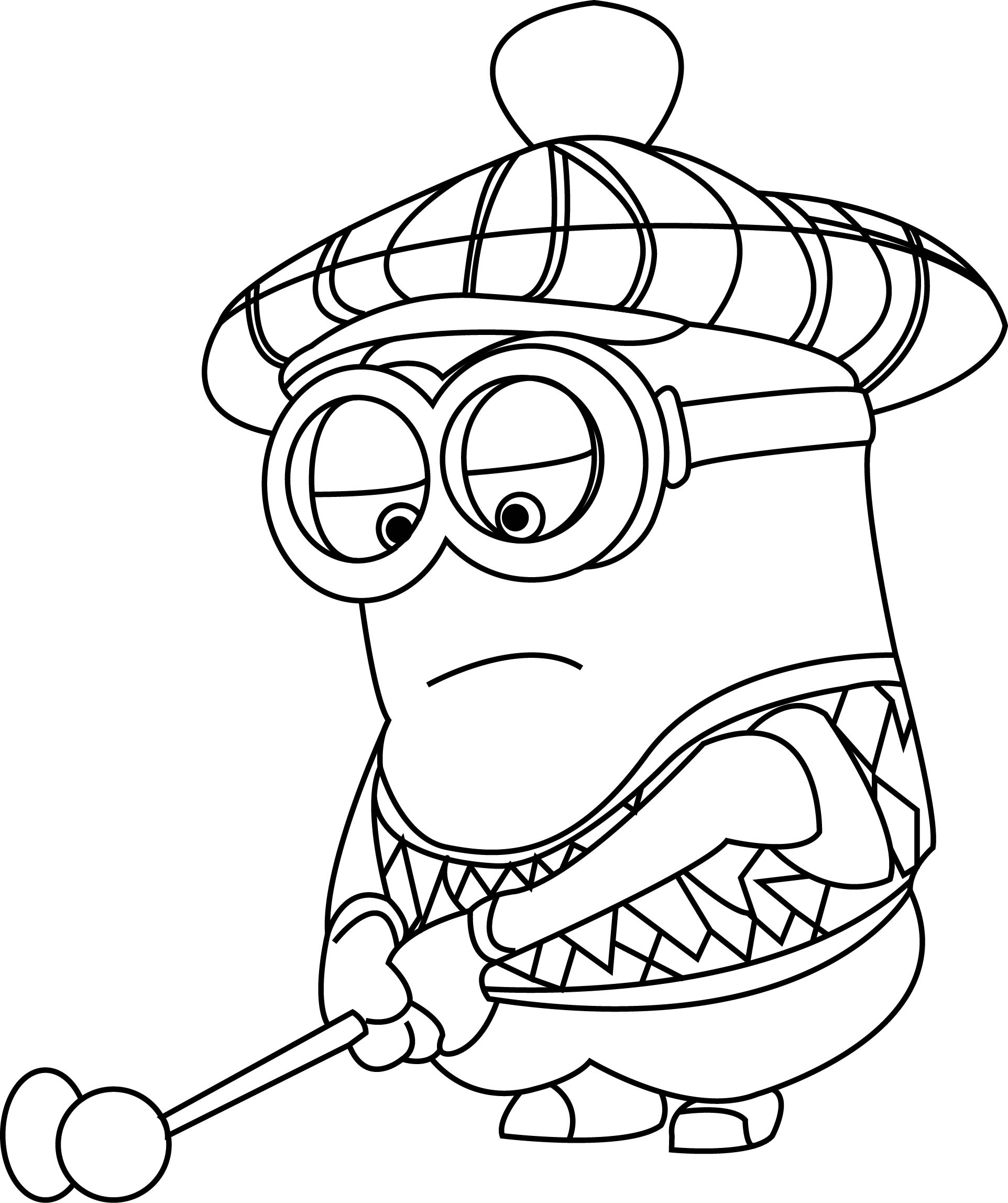 sgolf coloring pages - photo#1