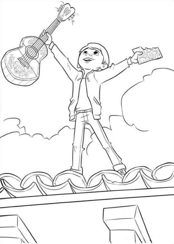 Print Coco Coloring Pages