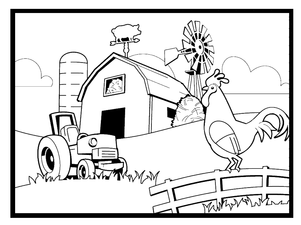 - Farm Coloring Pages - Best Coloring Pages For Kids