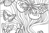 Butterfly Insects Coloring Page