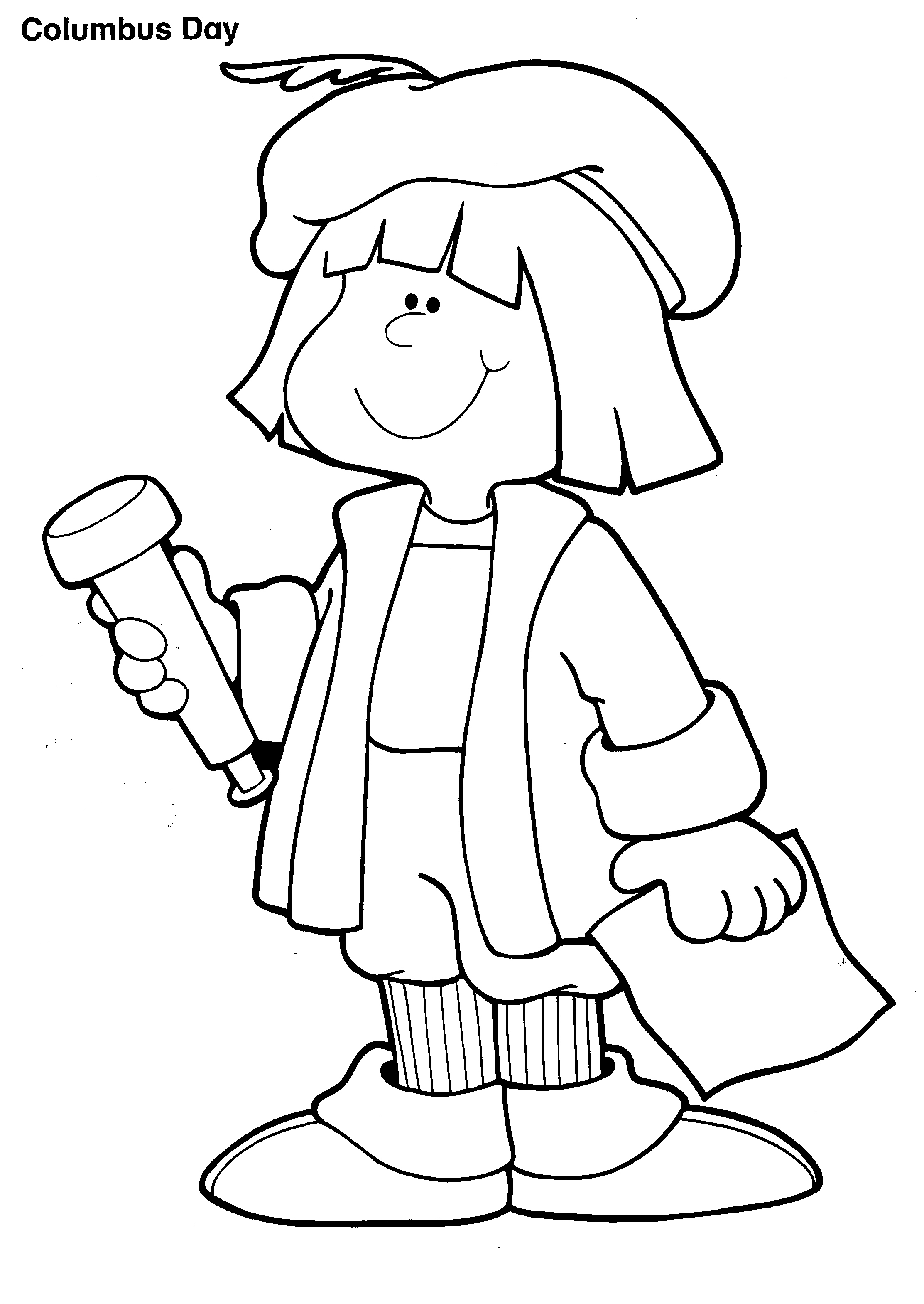 Columbus Day Coloring Pages - Best Coloring Pages For Kids