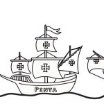 Columbus Day Coloring Pages