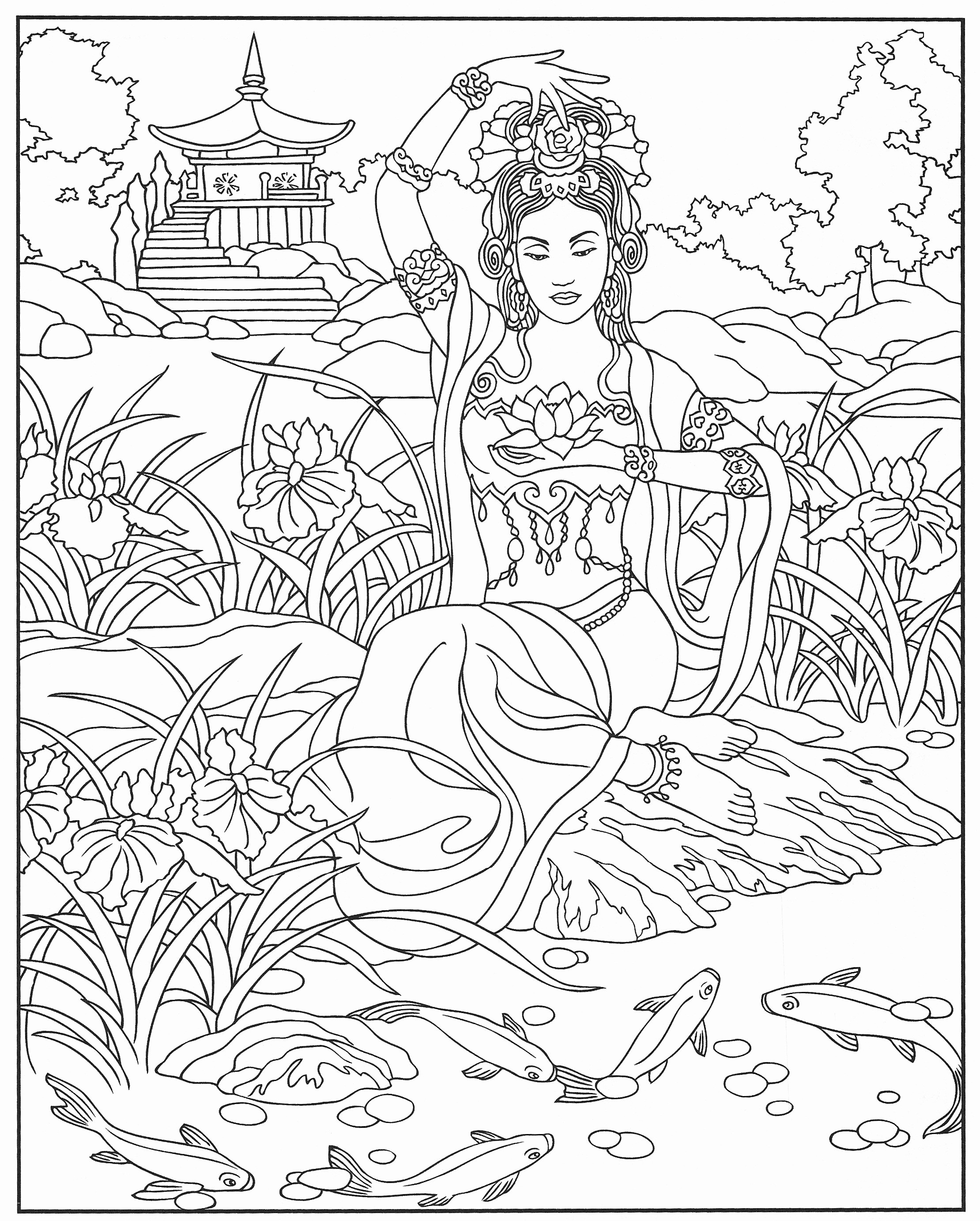 Complex Coloring Pages For Teens And Adults Best Coloring Pages For Kids