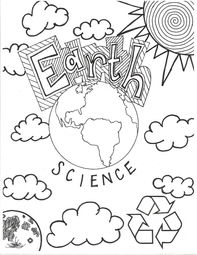 Earth Science Coloring Pages