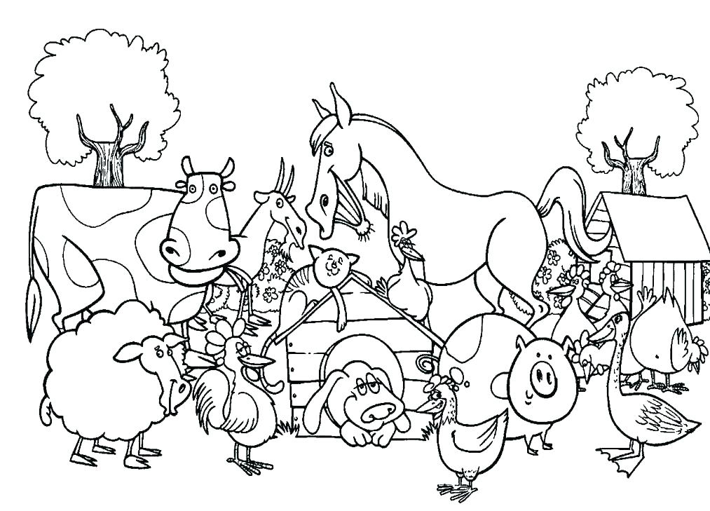 Animal Coloring Pages - Best Coloring Pages For Kids