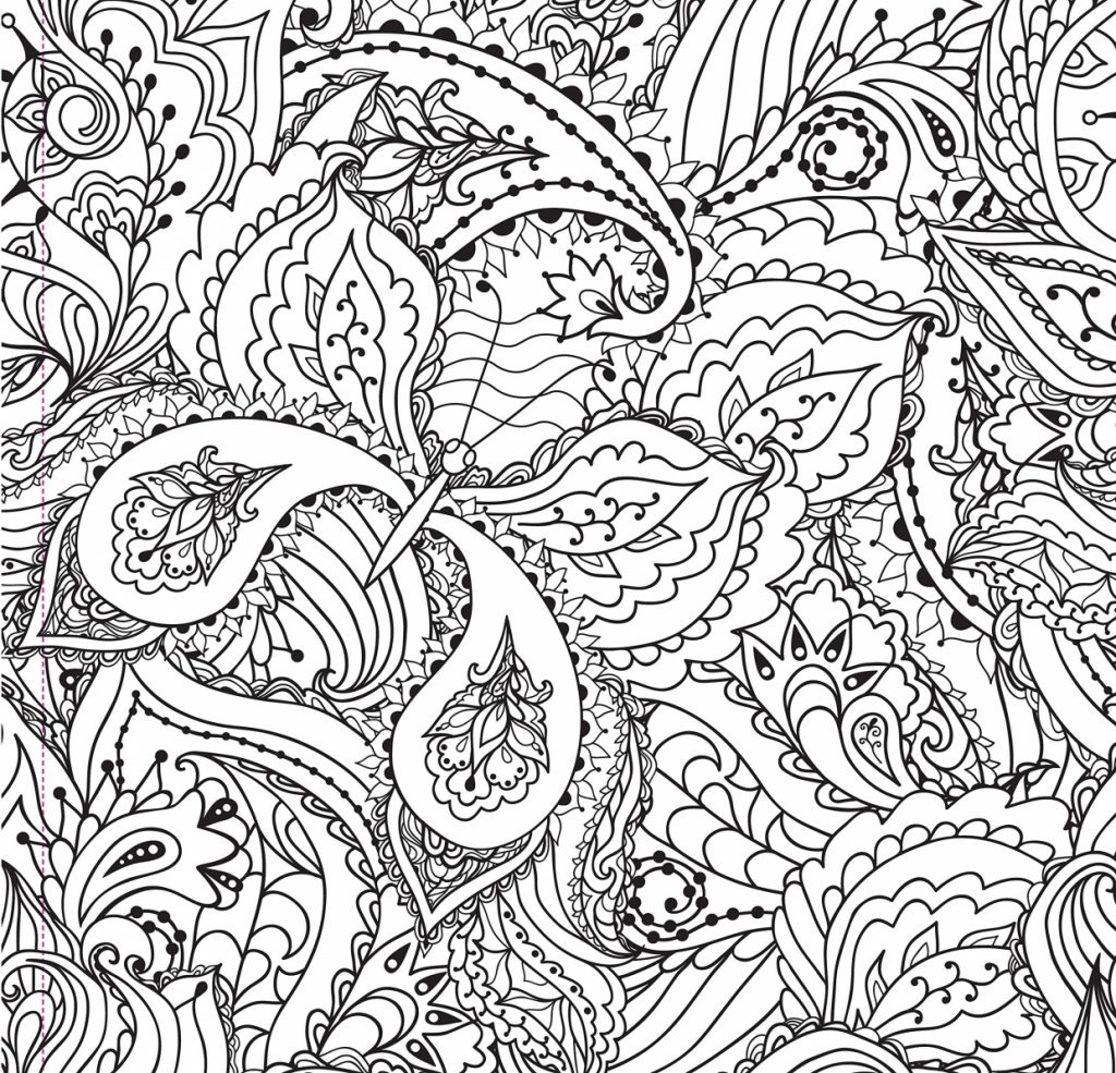 Complex Coloring Pages For Teens And Adults Best