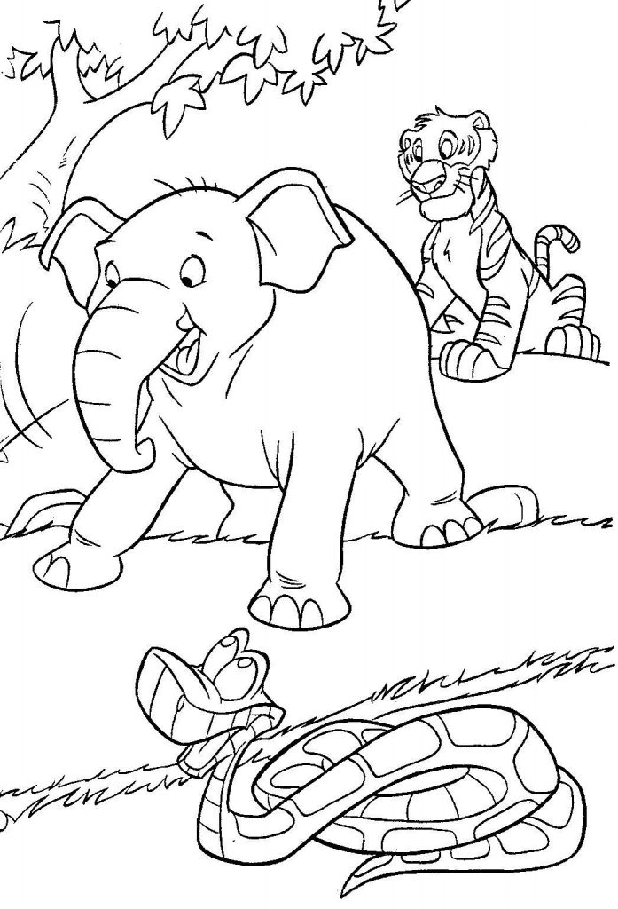 Free Jungle Book Coloring Pages