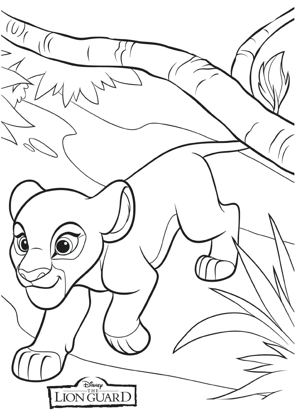 Lion Guard Coloring Pages - Best Coloring Pages For Kids