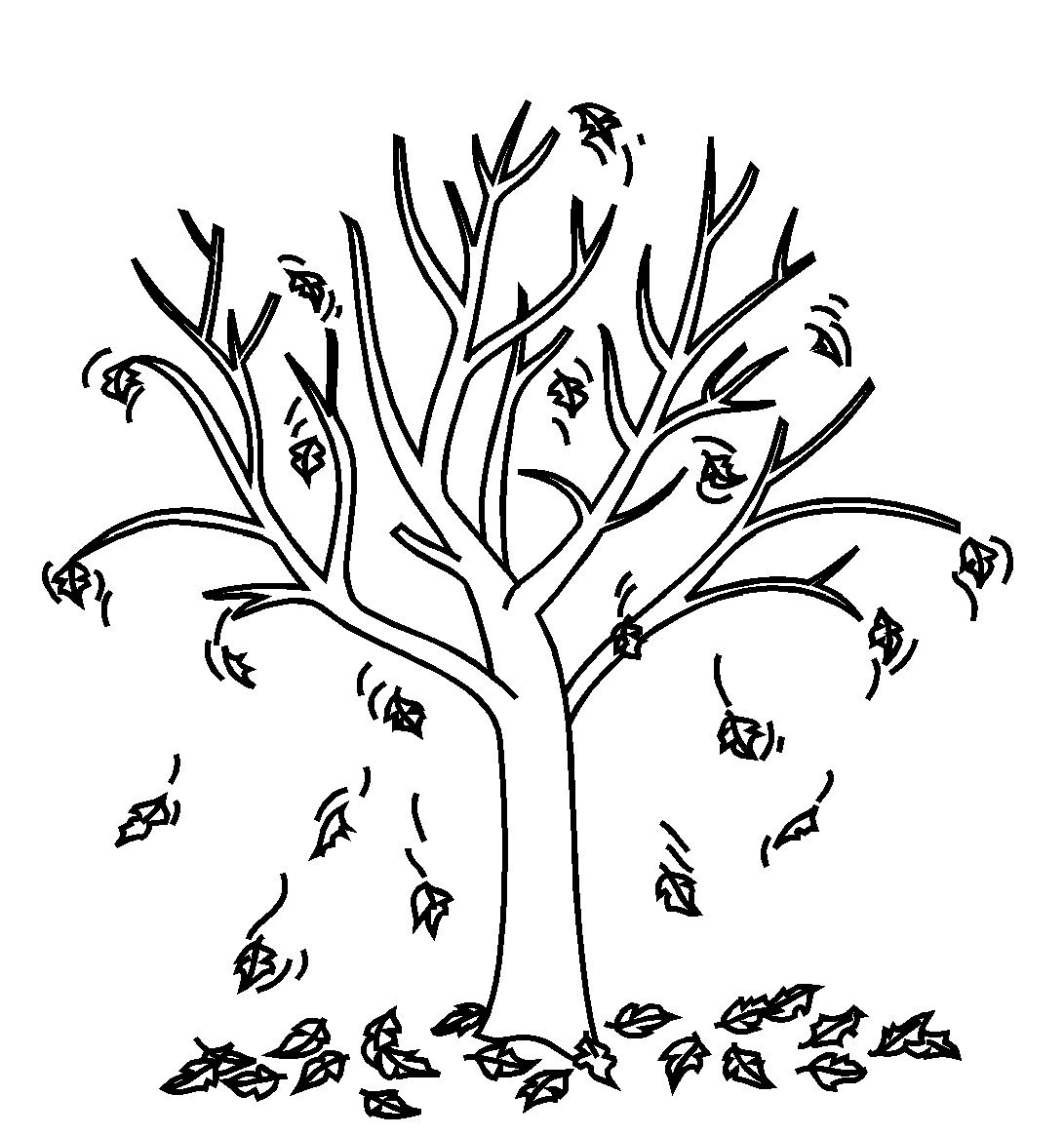 Fall Leaves Coloring Pages Best Coloring Pages For Kids