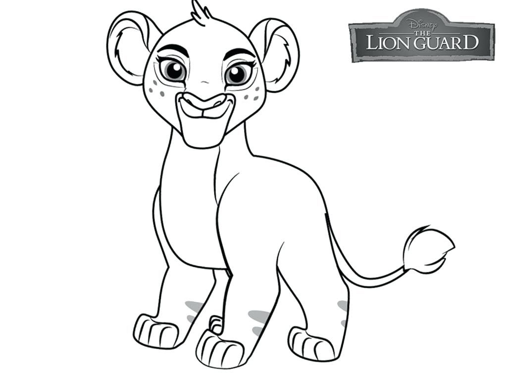 Lion Guard Coloring Page