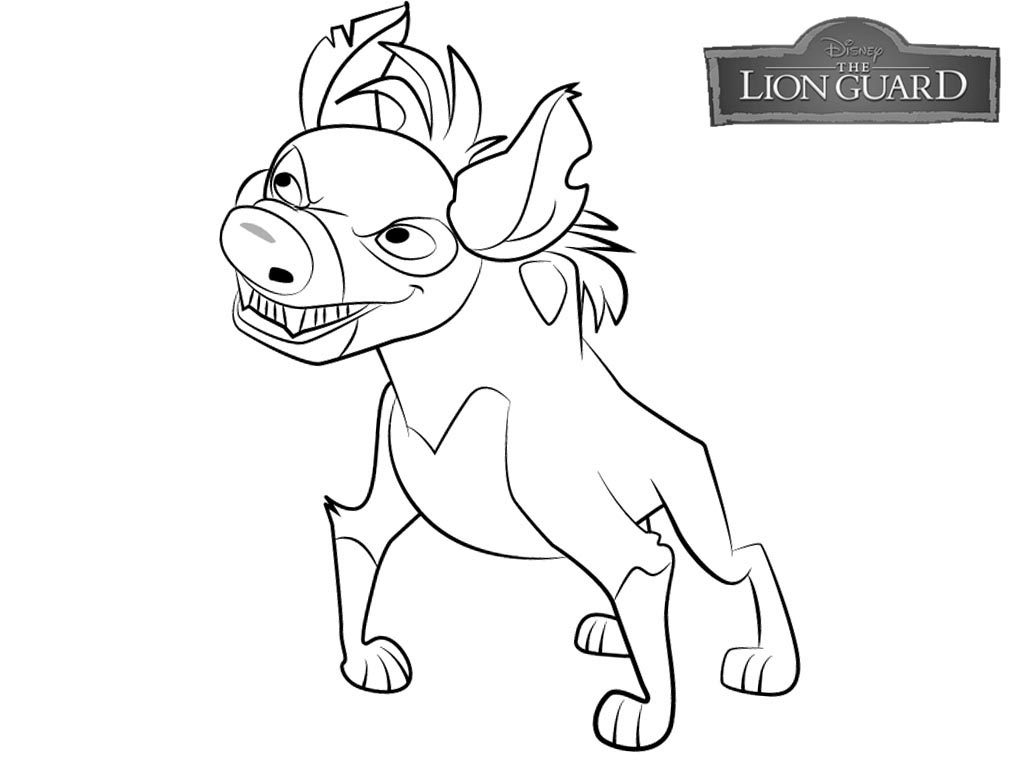 Lion Guard Coloring Page Free Printable