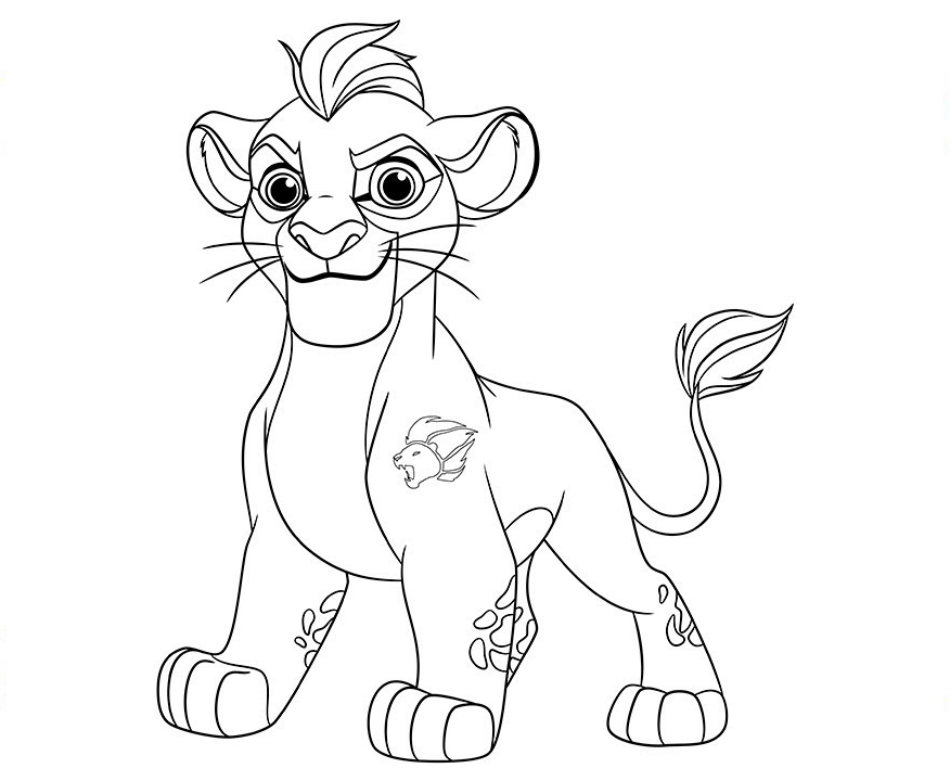 Lion Guard Coloring Pages Free Printables