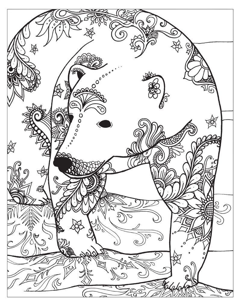 Winter Coloring Pages for Adults - Best Coloring Pages For ...