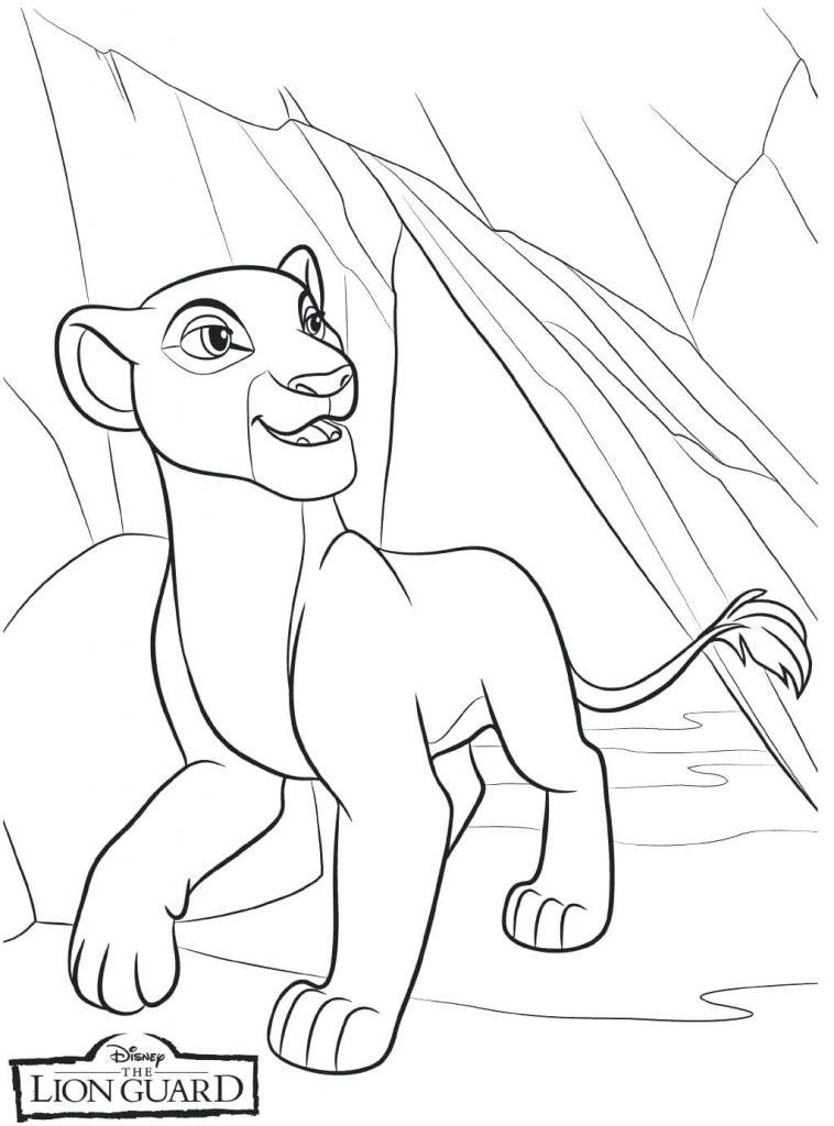 Print Free Lion Guard