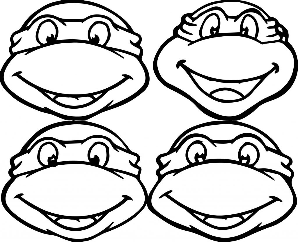 Impertinent image pertaining to ninja turtles printable coloring pages