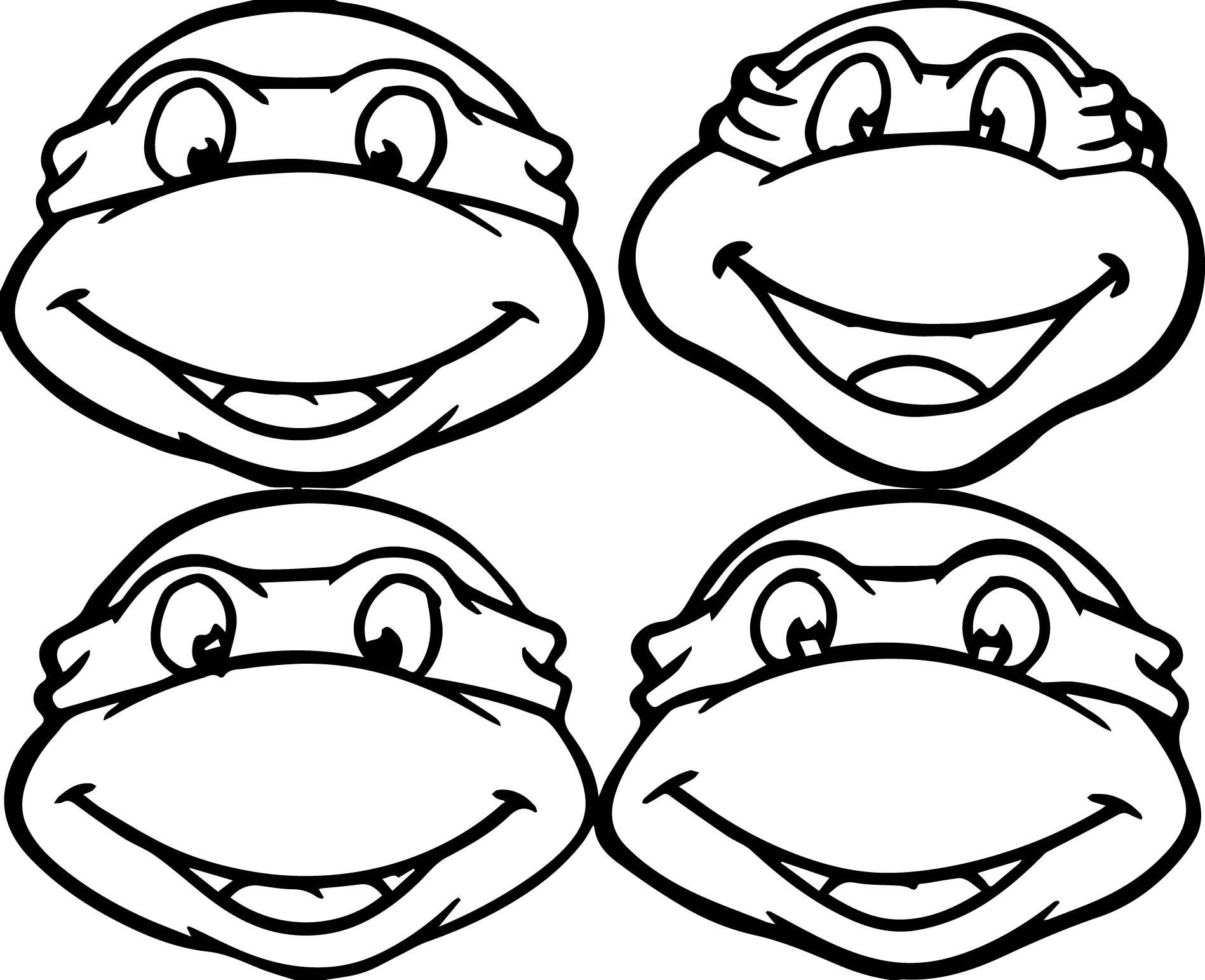 Teenage Mutant Ninja Turtles Coloring Pages Best